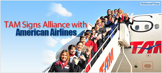 """TAM signs alliance with American Airlines"""