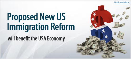 """Proposed New US Immigration Reform will benefit the USA Economy"""